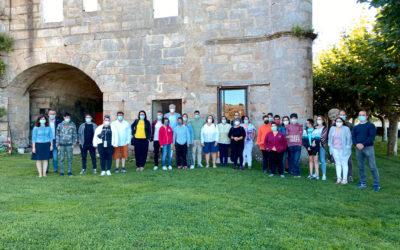 """O proxecto """"Do Mosteiro a Santiago"""" viaxa por Galicia para divulgar a súa experiencia"""
