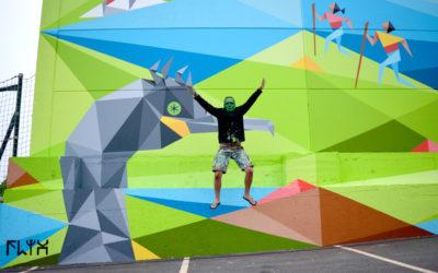 Arte urbano e historia local este domingo en Oia, nunha visita guiada gratuita